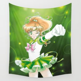 Eternal Sailor Jupiter Wall Tapestry