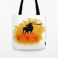 native Tote Bags featuring Native by Max Wellsman