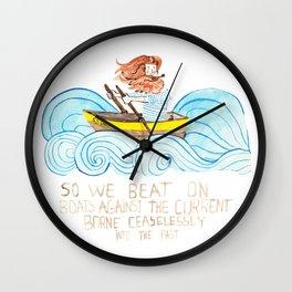 Chasing Dreams Wall Clock