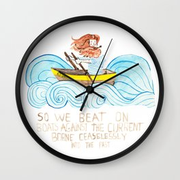 Chasing Dreams Wall Clock