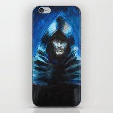 The Hooded One iPhone & iPod Skin