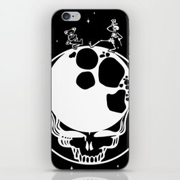 Travel Sapce with the Deads (Dancing in the space) iPhone Skin