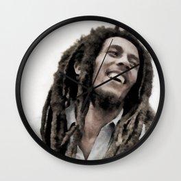 Marley, Music Legend Wall Clock