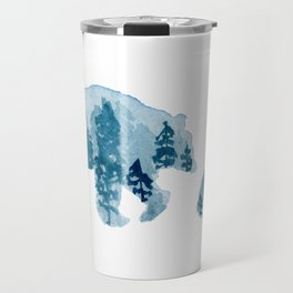 Smoky Mountain Bear Mom and Cub Travel Mug