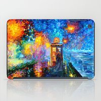 fandom iPad Cases featuring The 10th Doctor who Starry the night Art painting iPhone 4 4s 5 5c 6, pillow case, mugs and tshirt by Three Second