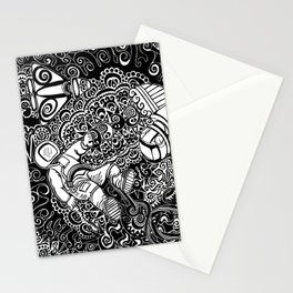 Artifiction Black and White Stationery Cards