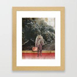 aus gebrannt Framed Art Print