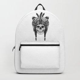 Dead shaman (b&w) Backpack