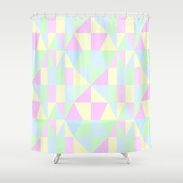 SWEET PIE PASTEL PATTERN Shower Curtain