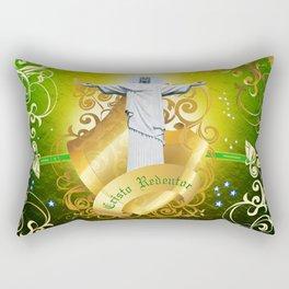 The Cristo Redentor Rectangular Pillow