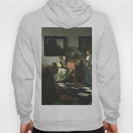 Stolen Art - The Concert by Johannes Vermeer Hoody