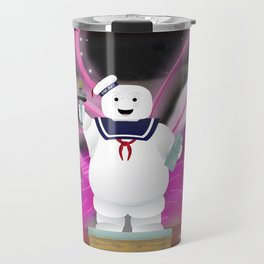 Statue of Stay Puft - Angry - Variant Travel Mug