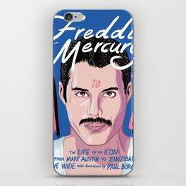 Freddie Queen mercury iPhone Skin