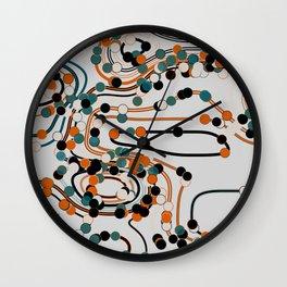 dots/lines6 Wall Clock