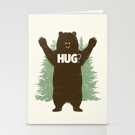 Bear Hug? Stationery Cards