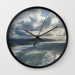 pacific coast beauty Wall Clock
