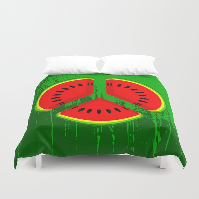 Watermelon Duvet Cover
