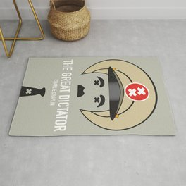 The Great Dictator - Alternative Movie Poster Rug