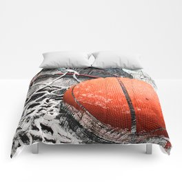 Modern Basketball Art 8 Comforters
