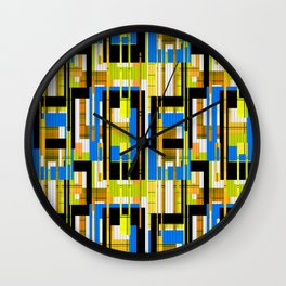 Abstract pattern . Line 2 . Wall Clock