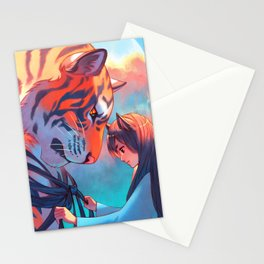 Tangled Tiger Stationery Cards
