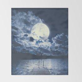 Bottomless dreams Throw Blanket