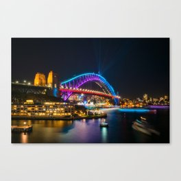 Bridging the gap: from the past and into the future Canvas Print