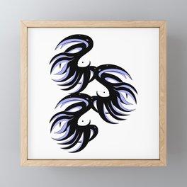 Betta Fighting fish #5 Framed Mini Art Print