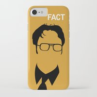 dwight iPhone & iPod Cases featuring Dwight Schrute by Stacia Elizabeth