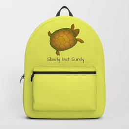 Turtle - Slowly but Surely - Lazy Animals Backpack