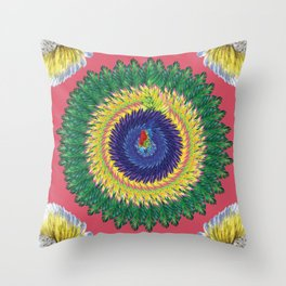 Araras Throw Pillow