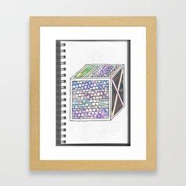 """'Boxt In"""" Framed Art Print"""