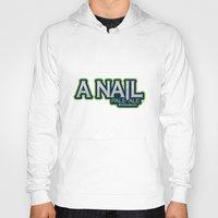ale giorgini Hoodies featuring A Nail Pale Ale by Pen Island Brewing Company