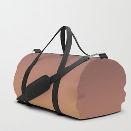 Anguilla - Classic Colorful Brown Orange Yellow Abstract Minimal Modern Summer Style Color Gradient Duffle Bag