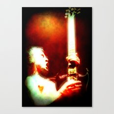 AC/DC Angus Young Canvas Print