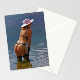 Lingerie 3 Stationery Cards