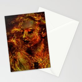 LUSTFUL FLAMES Stationery Cards