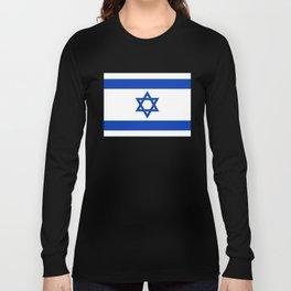 National flag of Israel Long Sleeve T-shirt