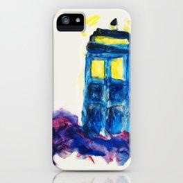 TARDIS iPhone Case