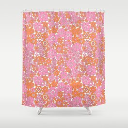vintage pink 4 Shower Curtain