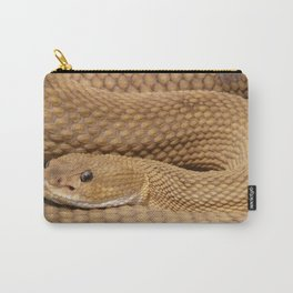Brown Rattlesnake  Carry-All Pouch