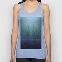 Six conical shapes Unisex Tank Top