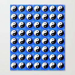Yin and Yang 7 - Tao,Zen,Taoism,Dao,Harmony,religion,buddhism,buddhist,taijitu,taiji,taoist,china Canvas Print