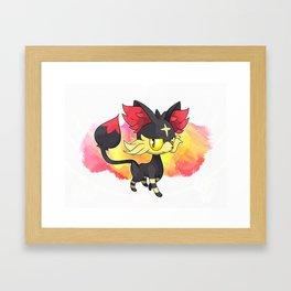 LITTEKIN by Villiam Boom Framed Art Print