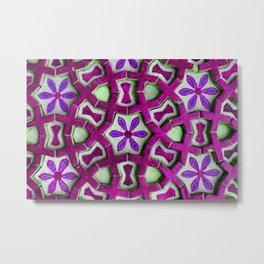 Traditional Moroccan tiles Metal Print