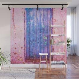 Blue Door Wall Mural