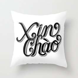 Xin Chào, Vietnam Throw Pillow