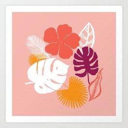 aloha, print Art Print