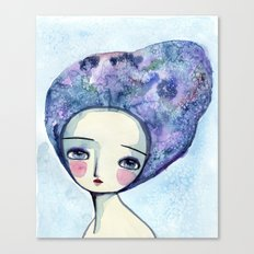 The Muse Of Winter Canvas Print