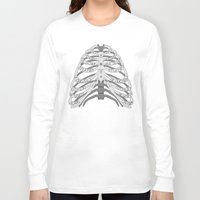winchester Long Sleeve T-shirts featuring Winchester Bones by Lisa Buchfink